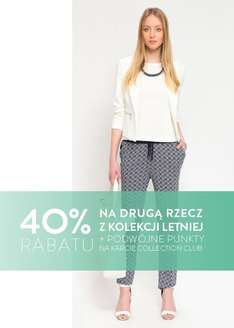 Rabat 40% na drugi produkt (dla Członków Collection Club) @ Top Secret