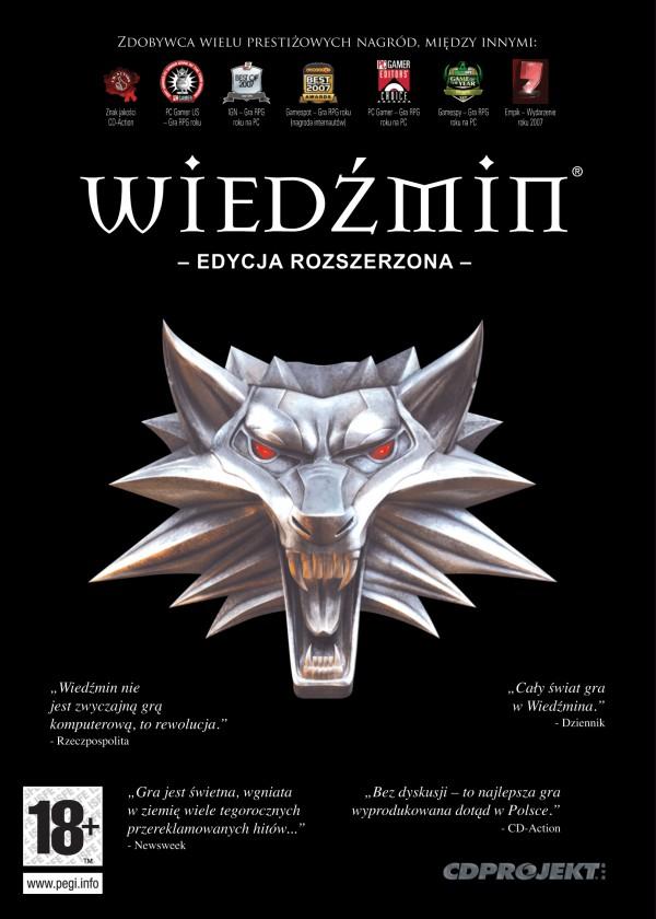 Wiedźmin Edycja Rozszerzona za 4,99zł oraz Wiedźmin 2: Zabójcy Królów Edycja Rozszerzona za 9,99zł (PC) @ CDP.pl