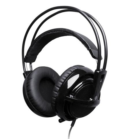Słuchawki nauszne SteelSeries Siberia V2 (czarne) z mikrofonem @ X-Kom
