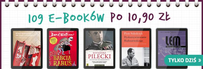 Ponad 100 tytułów e-booków po 10,90zł (tylko do niedzieli) @ Publio