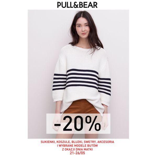-20% na wybrane produkty @ Pull&Bear
