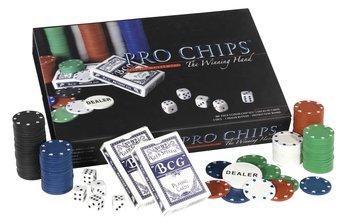 Zestaw 200 żetonów oraz dwie talie kart (do np. Pokera) za 18zł @ JYSK