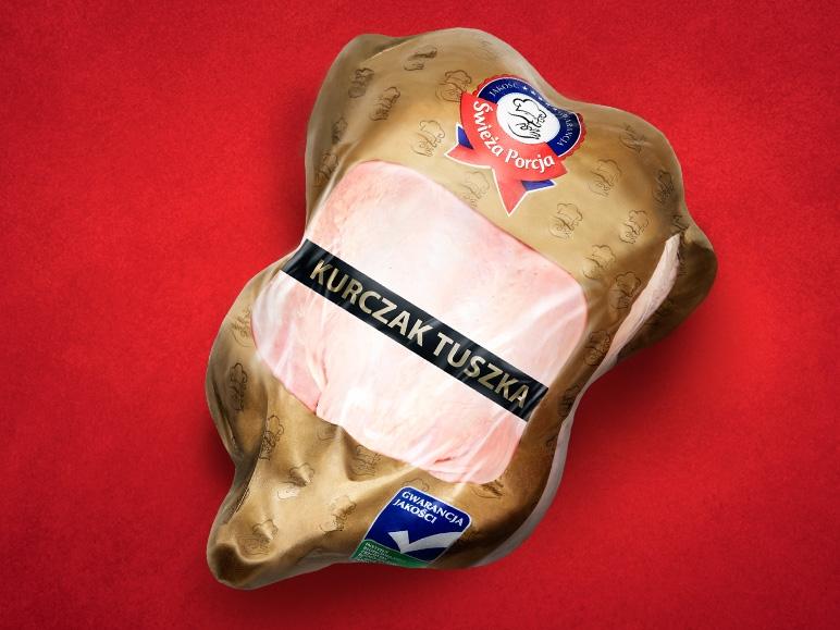 Świezy kurczak (tuszka) - 4,99 zł/1 kg @ Lidl