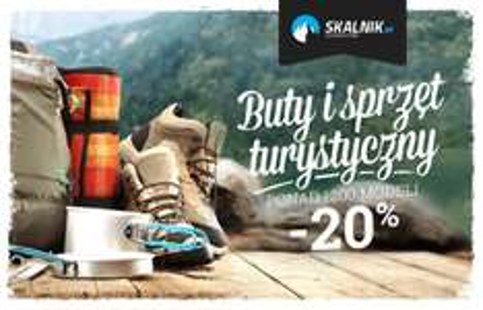 Do 50% rabatu na buty i sprzęt turystyczny @ Skalnik