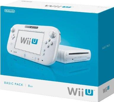 Nintendo Wii U Basic (biała) za 675zł z wysyłką do Polski @ Amazon.fr