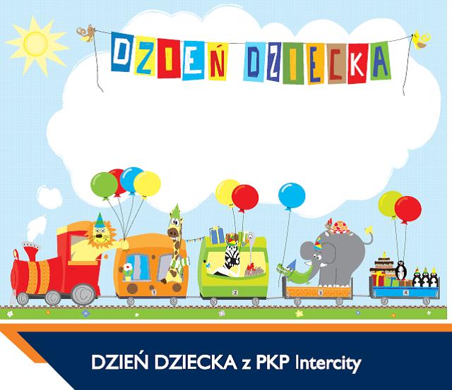 Darmowe przejazdy dla dzieci i młodzieży na Dzień Dziecka (30.05 -1.06) @ PKP Intercity