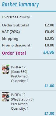 Używana Fifa 12 (XBOX360/PS3) za ok. 22 zł