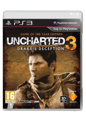 Uncharted 3: Oszustwo Drake'a - GOTY (PS3) za ok. 45zł @ Base.com