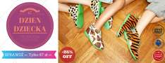 Oryginalne modele kapci Slippers Family taniej o 25% @ Slippers Family