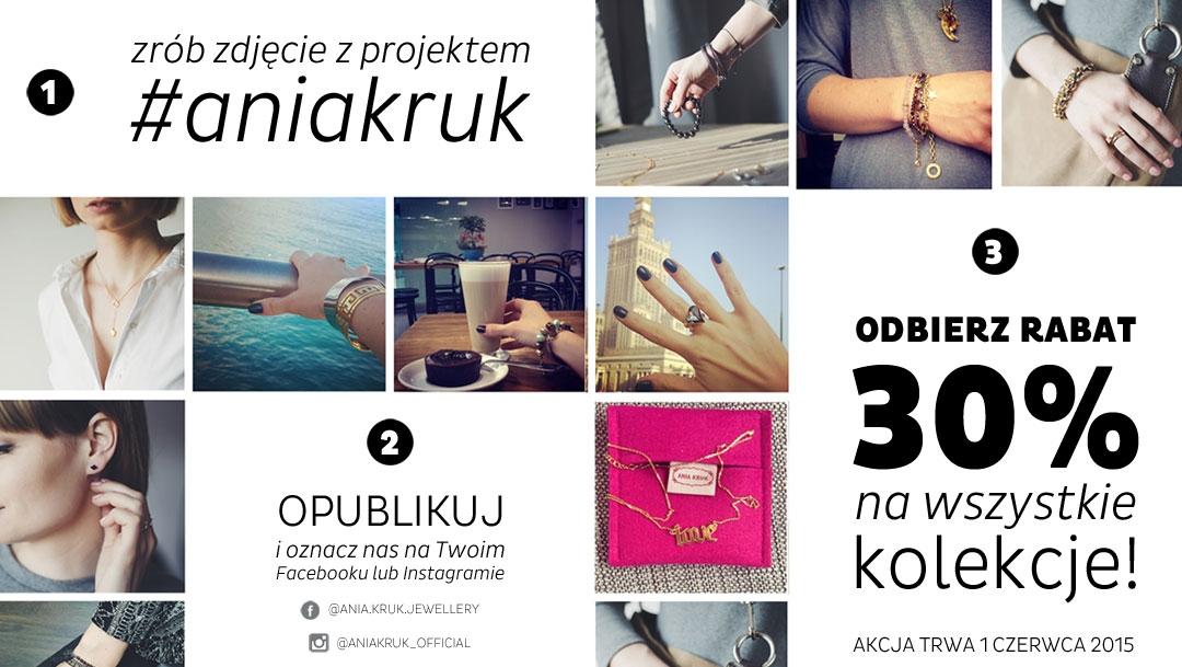-30% na całą kolekcję @ Ania Kruk