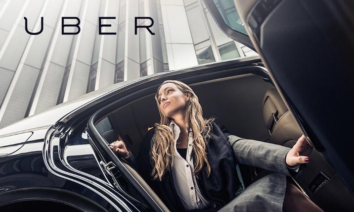 60zł na przejazdy taksówkami UBER w Krakowie za 9,99zł @ Groupon