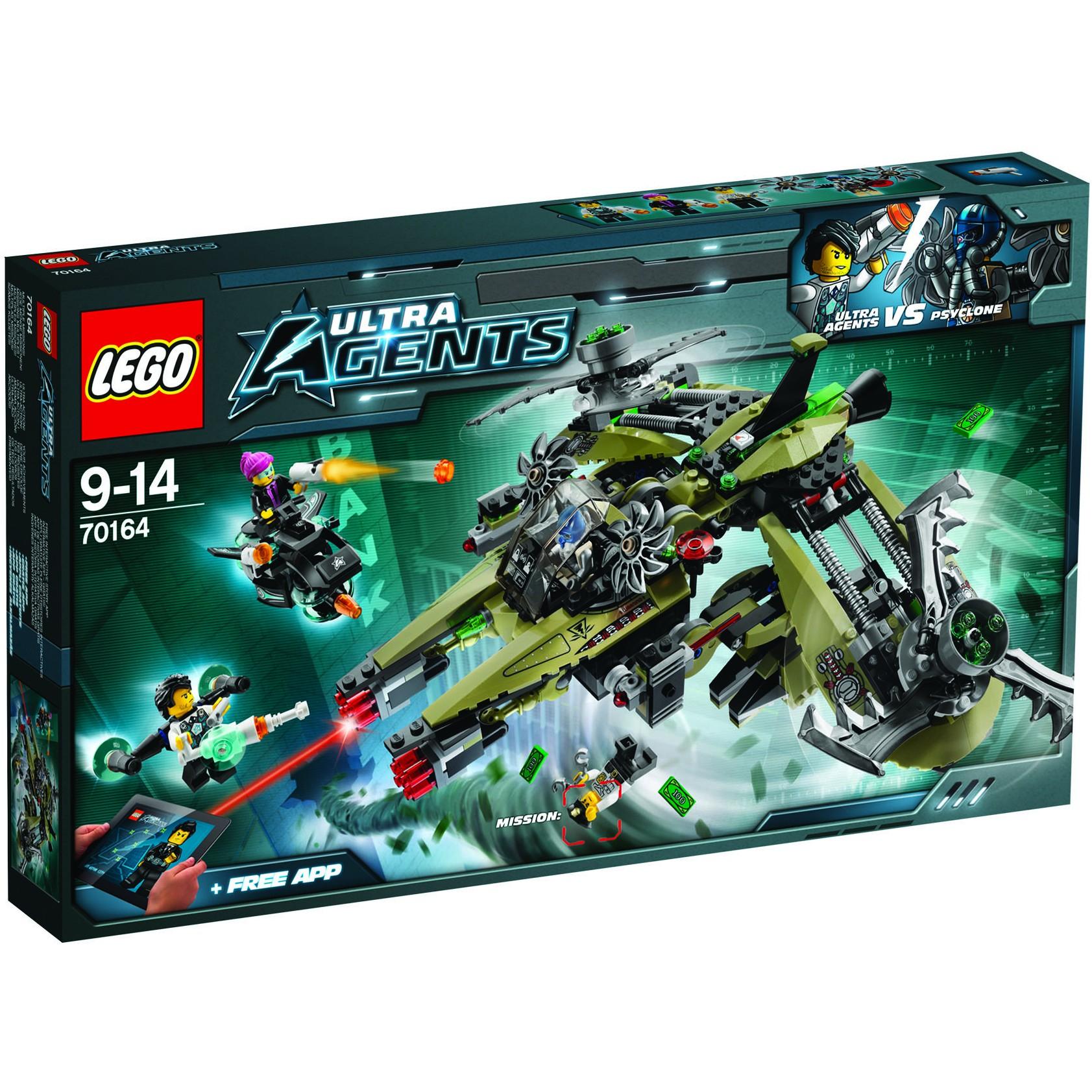 Klocki LEGO Agents Operacja Huragan (70164) za 169zł @ Agito
