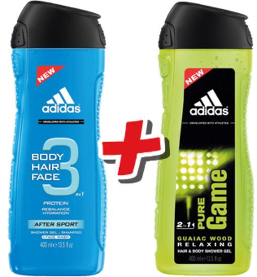Żel pod prysznic Adidas 1+1 GRATIS @ Intermarche