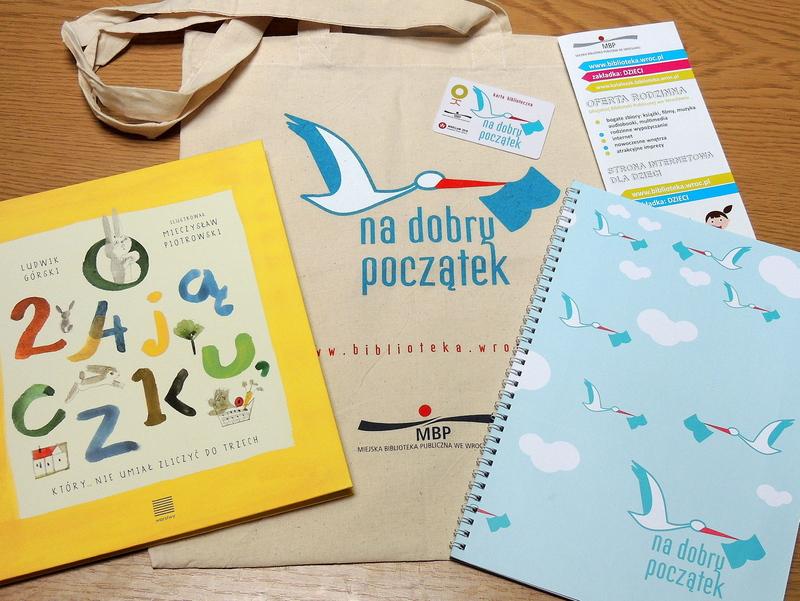"""Wyprawka czytelnicza """"na dobry początek"""" dla dzieci (Wrocław) @ Miejska Biblioteka Publiczna"""