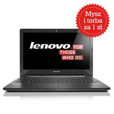 Lenovo G50-30 + torba + mysz (2x2.58GHz, 4GB ram, 500GB dysk, Windows 8.1) za 999zł @ Euro