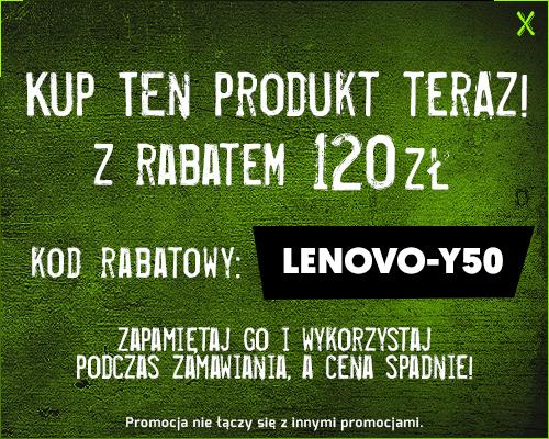 Lenovo Y50-70 z GTX960M z rabatem 120zł