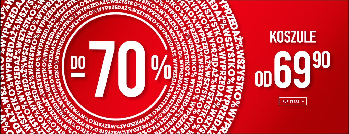 Do - 70% na cały asortyment @ Wólczanka