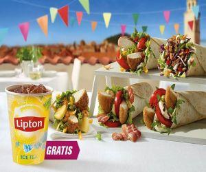 Mały napój Lipton Ice Tea Gratis @ McDonald's