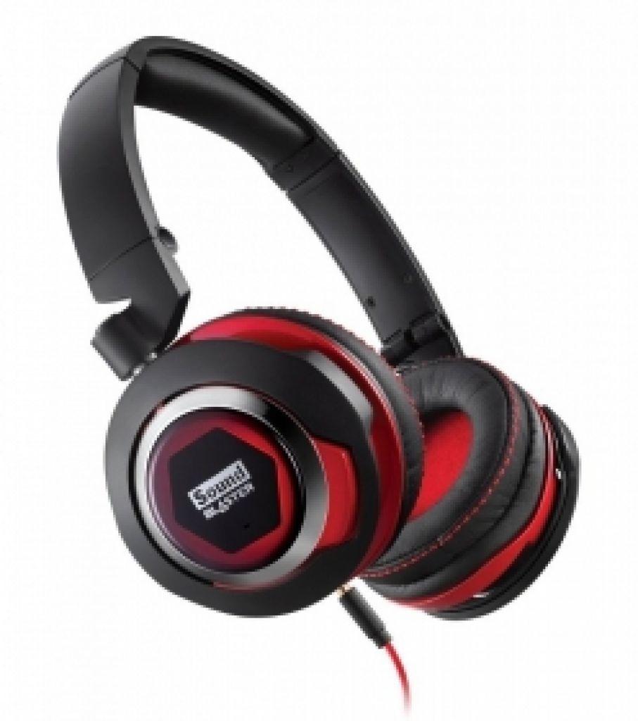 Słuchawki z wbudowanym mikrofonem Creative Sound Blaster EVO (PC, Playstation 4) @ X-Kom