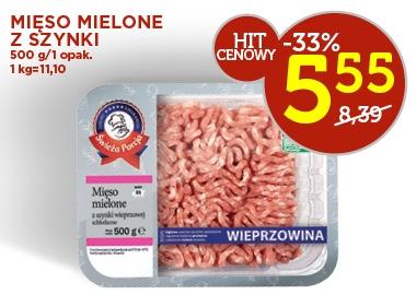 Mięso mielone z szynki 500g za 5,55zł @ Lidl