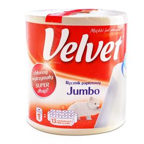 Ręczniki papierowe Velvet Jumbo za 10,99zł @ Tesco