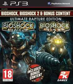 Bioshock Ultimate Rapture Edition (1 i 2) na PS3 za 39,99zł @ Merlin