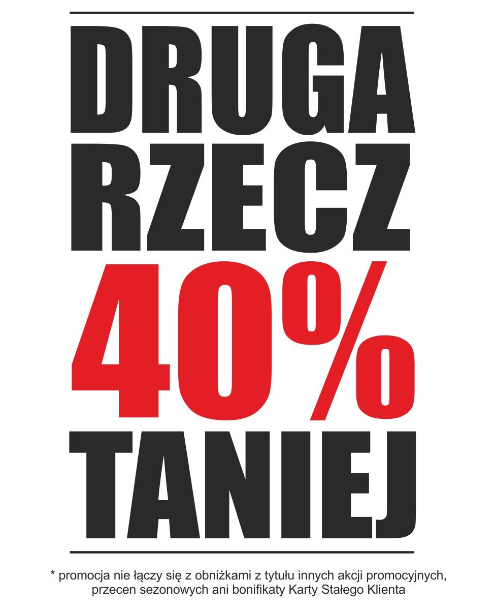 Druga rzecz z rabatem -40% @ Taboo