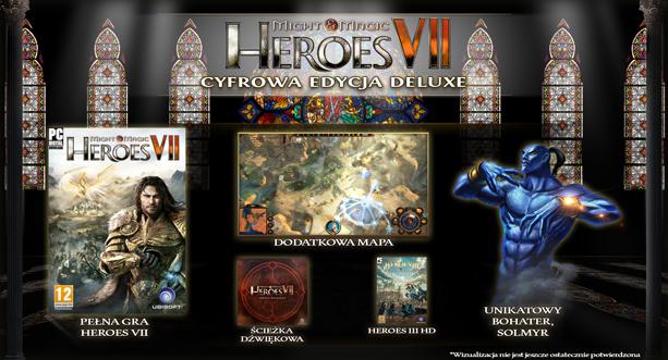 (BŁĄD CENOWY!) Might & Magic Heroes VII - Digital Deluxe Edition za 59,97zł (regularna cena 239,90zł) @ Uplay