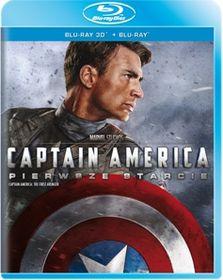 Captain America: Pierwsze starcie 3D (Blu-Ray) za 31,99zł @ Empik