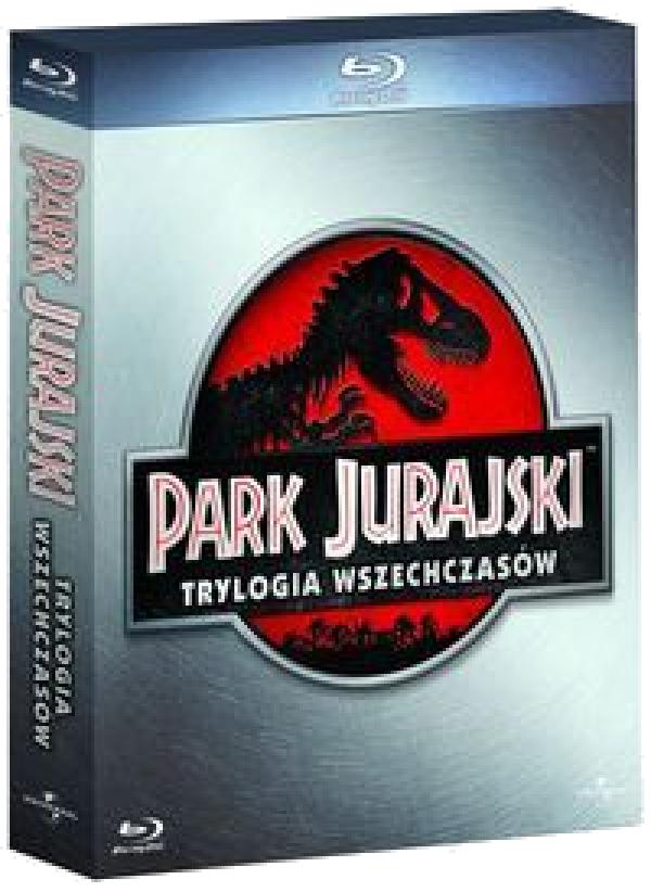 Park Jurajski: Trylogia (Jurassic Park: Trilogy) (Blu-ray)