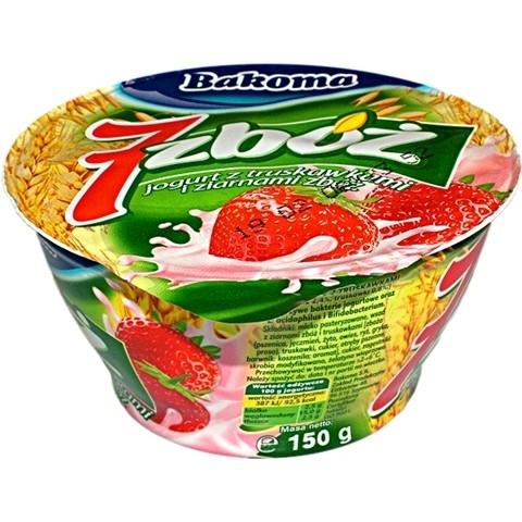 Jogurt owocowy 7 zbóż za 0,79 zł @ Kaufland