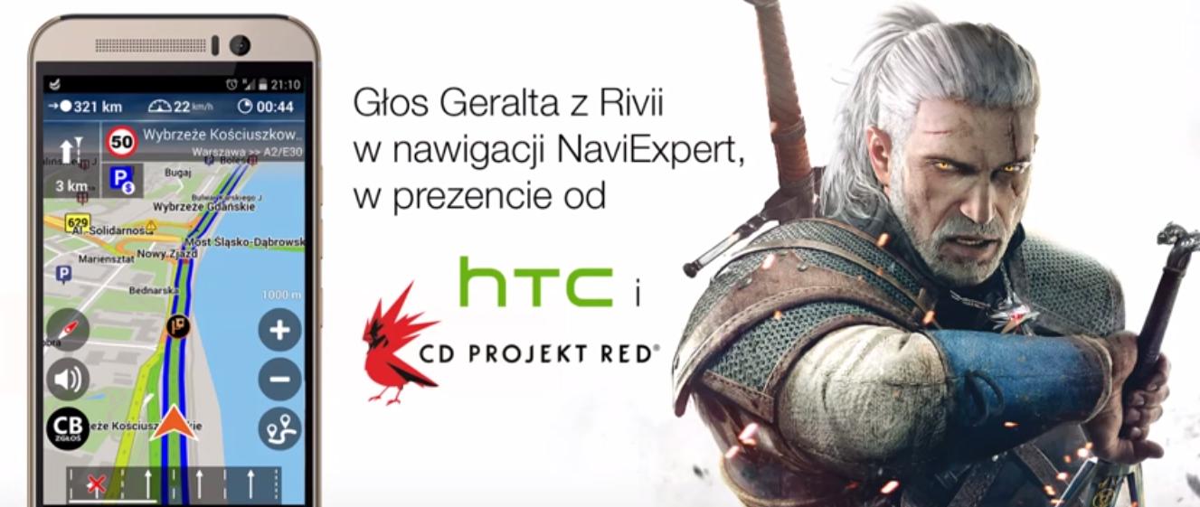 Głos Geralta z Rivii w nawigacji GPS NaviExpert ZA DARMO!