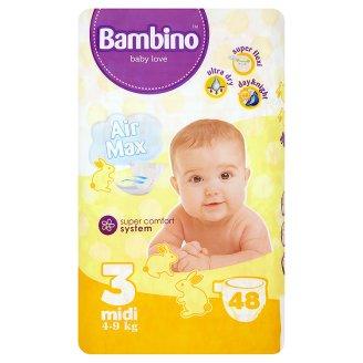 pieluszki Bambino baby love 3 midi 4-9kg (48szt.) za 19,99zł @ Tesco