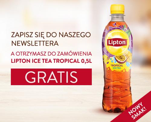 Lipton Ice Tea Tropical 0,5L za zapisanie się do newslettera @ KFC Dostawa
