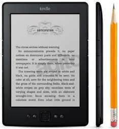 Czytnik e-booków Kindle 5 Wi-Fi bez reklam za 245 zł @ Agito