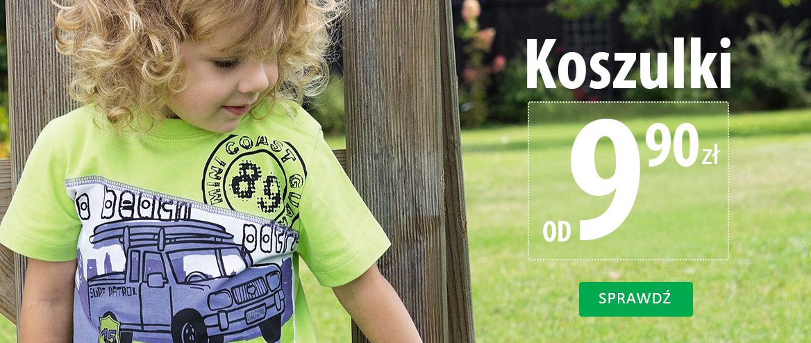 Koszulki dziecięce za 9,90zł @ Coccodrillo