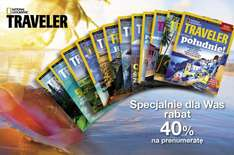 Prenumerata National Geographic Traveler 40% TANIEJ @ Burdamedia
