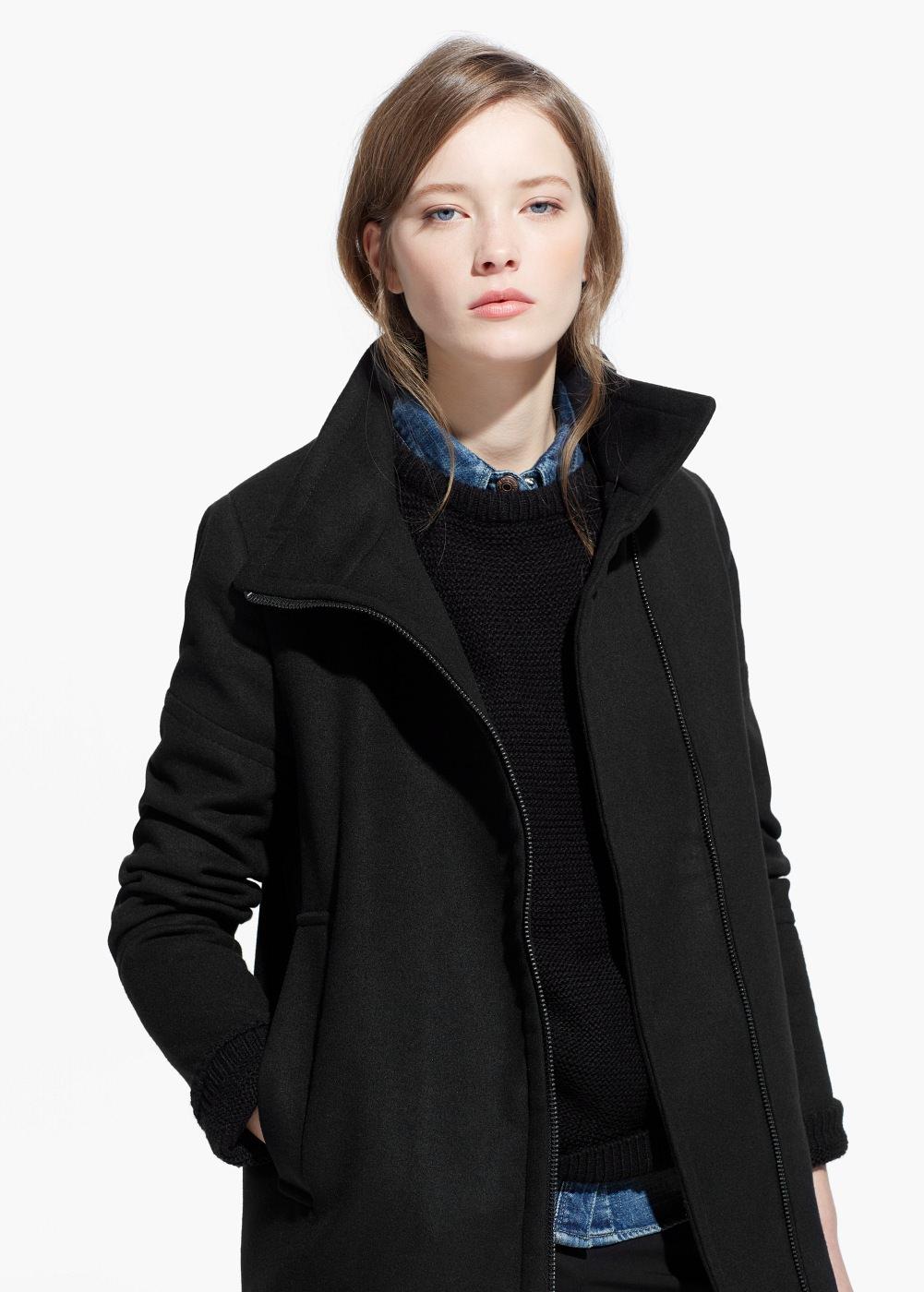 Damski płaszcz za 89zł (50% taniej) @ Mango