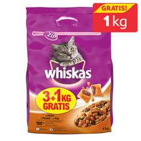 Karma Whiskas 3kg za 27zł + 1kg GRATIS @ Tesco