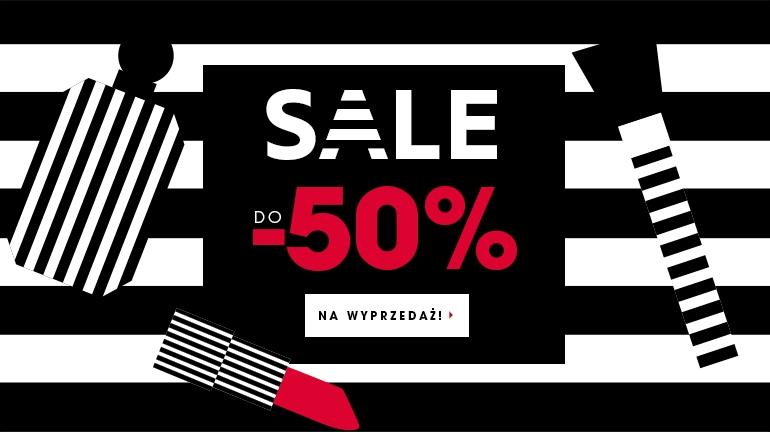 Do 50% zniżki na wybrane produkty (np.lakiery do paznokci za 4,90zł) @ Sephora