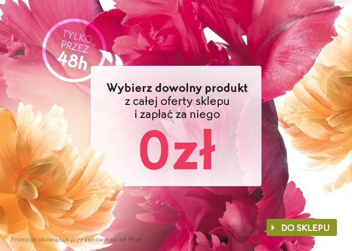 Przy zakupie za minimum 99zł otrzymasz DOWOLNY produkt z oferty sklepu GRATIS @ Yves Rocher