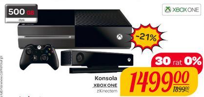 Konsola Xbox One (500GB) w zestawie z kamerą KINECT za 1499zł @ Carrefour