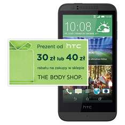 30 lub 40zł zniżki w The Body Shop przy zakupie HTC Desire 510 @ T-Mobile