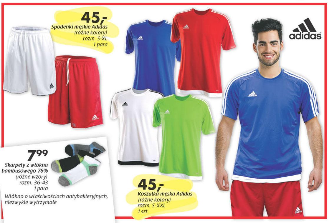 Koszulka lub spodenki Adidas za 45zł @ Netto