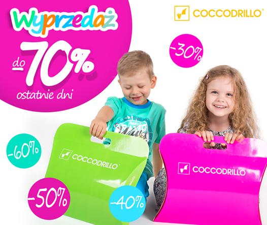 Wyprzedaż do 70 % @ Coccodrillo