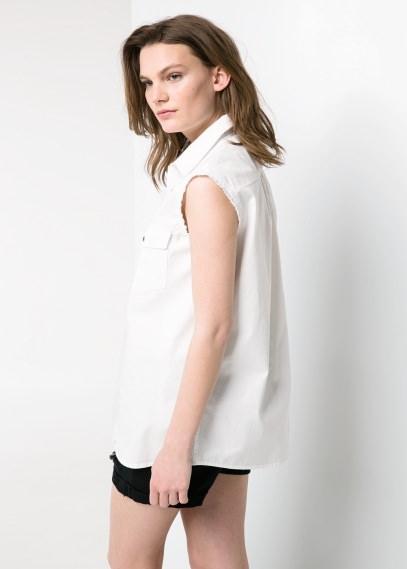 Damska bluzka koszulowa za 19zł (80zł taniej!) @ Mango Outlet