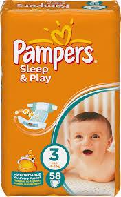 Pieluszki Pampers Sleep&Play 2 opakowania za 49zł @ Netto