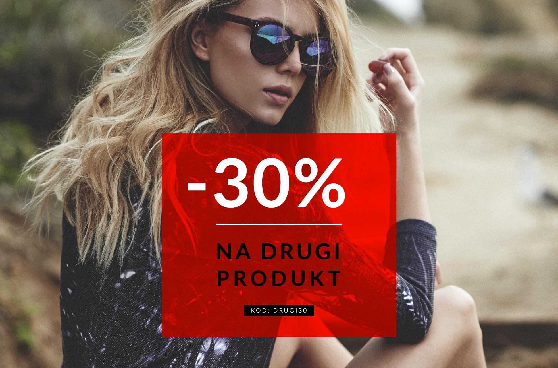 Rabat 30% na co drugi produkt @ Diverse