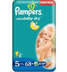 Pieluszki Pampers Giant Pack za 45,99zł @ Kaufland