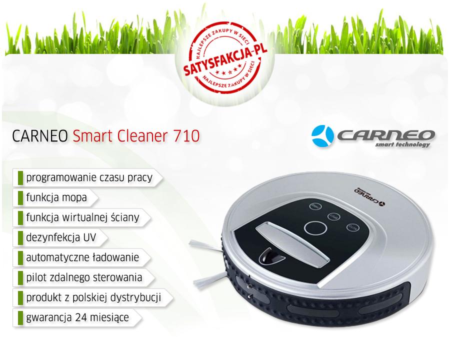 Robot odkurzający Carneo  Smart Cleaner 710 za 599zł (130zł taniej) @ Satysfakcja